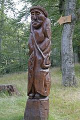 Skulptur von St. Antonius am Antoniusplatz, Bad Harzburg