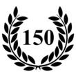 Lauriers 150 sur fond blanc
