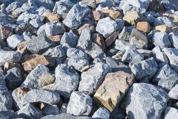 big rocks as background