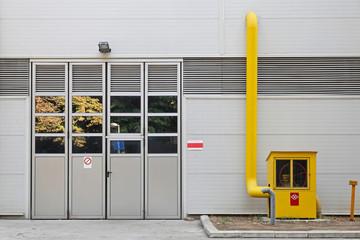 Industrial gas meter