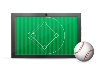 tablet baseball