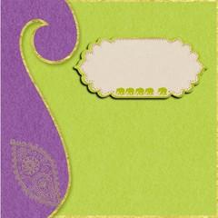 faire-part mariage anis violet