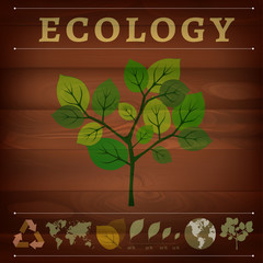 ecological green tree