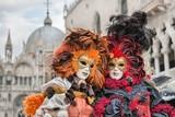Carneval mask in Venice - Venetian Costume - 76652430