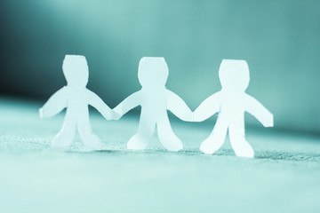 Teamwork People Chain