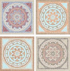 Antique mosaic
