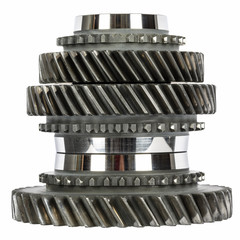 Cog wheels stacked in a pile