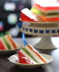 Торт, желе