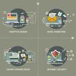 E-marketing, adaptive design, comunication, internet security