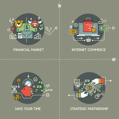 Financial market, ecommerce, save your time, partnership