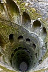 The Initiation well of Quinta da Regaleira in Sintra