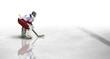 Leinwanddruck Bild - Eishockey Spiel