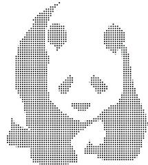 Panda a punti