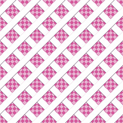 Abstract seamless background with pink geometric pattern