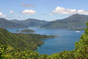 Queen Sharlotte Sound, Marlborough Sounds, New Zealand