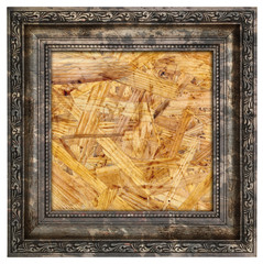 Ruined wooden frame