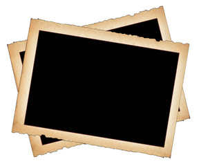 paper frames with frayed edges