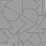 Vector background with geometric line shapes - 76661868