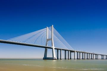 The Vasco da Gama Bridge in Portugal