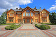 Leinwanddruck Bild - Mezhyhirya Residence