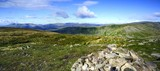 Coniston Fells across to The Langdales from Red Screes