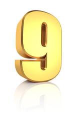 3d Number 9