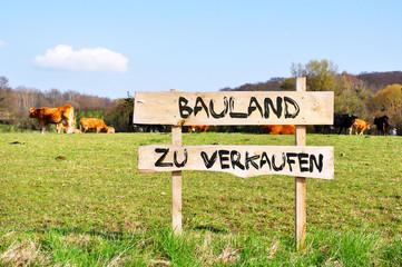 Bauland zu verkaufen