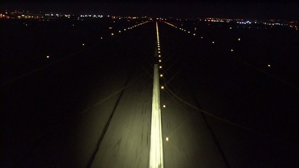 Lights City Utah Runway