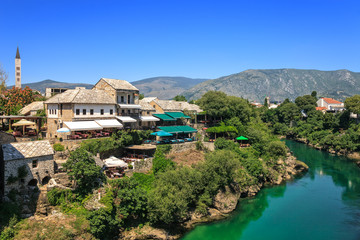 Old Town in Mostar, Bosnia and Herzegovina.