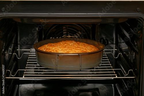 Foto op Canvas Koken Baking pie