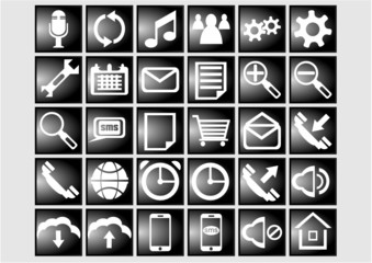 30 web and mobile icons