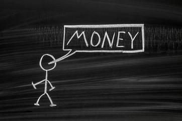 Pegmen and money