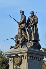 Memorial to Heroes of First world war. Kaliningrad (formerly Koe