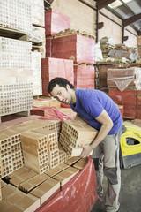 Worker at workshop