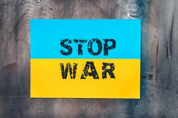 Ukraine, stop war