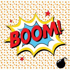 Boom - Comic Speech Bubble