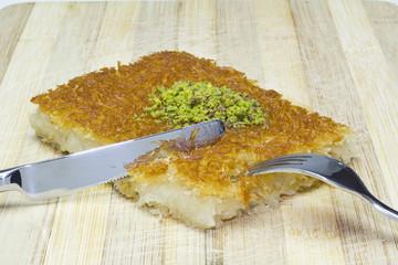 turkish dessert, kunefe