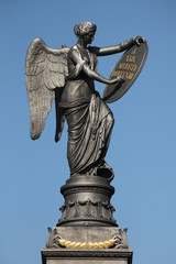 Goddess of Victory. Memorial to the Battle of Kulm.