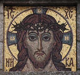 Jesus Christ mosaic.