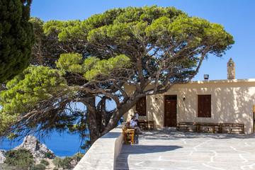 Монастырь Превели на острове Крит
