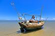 Boipeba - plage de Moreré - bateau de pêche - 76674093