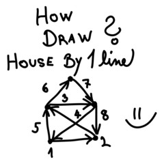 House in one line