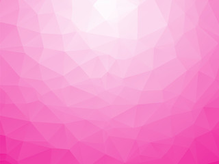 abstract triangular white pink love background