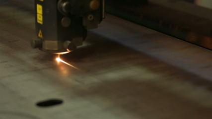 Laser Machine closeup