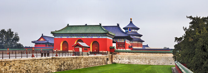 China Temple of Heaven Panorama