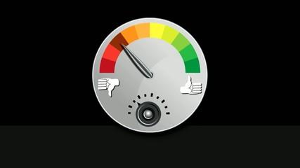 Like Dislike Meter