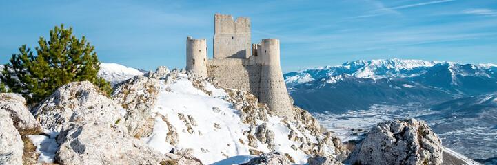 Rocca Calascio fortress, Abruzzo, Italy