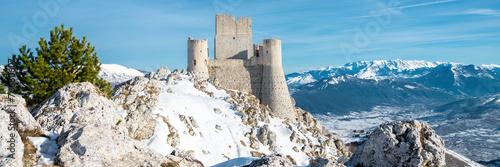 Deurstickers Vestingwerk Rocca Calascio fortress, Abruzzo, Italy