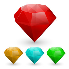 Set of gems