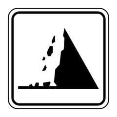 Logo chute de pierres.